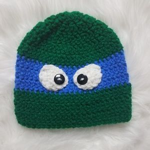 Other - Handmade Crochet Hat TMNT Sz 6-18 months